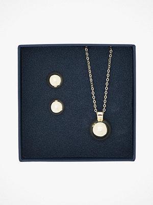 SNÖ of Sweden smycke Örhängen + halsband Belize Ball Pendant Set