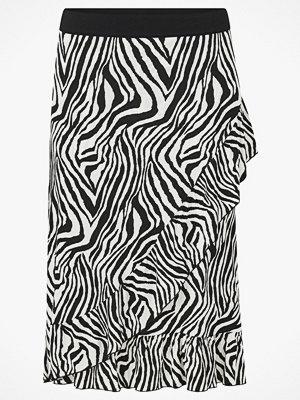 ZOEY Kjol i zebramönstrad trikå