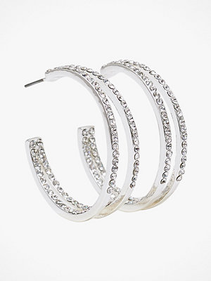 SNÖ of Sweden smycke Örhängen Carrie Big Oval Earring