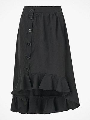 Only Kjol onlVictoria Long Frill Skirt
