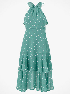Vila Klänning viYrsa Dot S/L Midi Dress