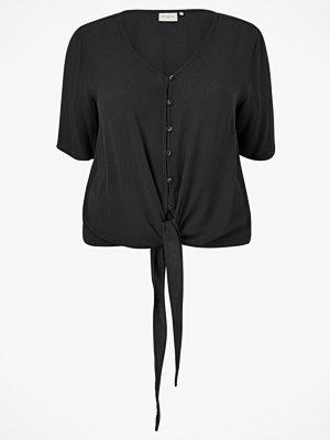 Only Carmakoma Topp carSavannah V-neck Shirt SS Solid