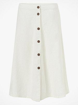 Jacqueline de Yong Kjol jdyKimmi Button Skirt