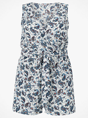 Only Carmakoma Playsuit carLux Saint S/L V-Neck