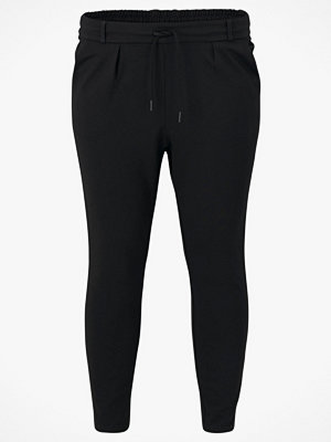 JUNAROSE by VERO MODA Byxor jrElse Slim Ankle Pants svarta