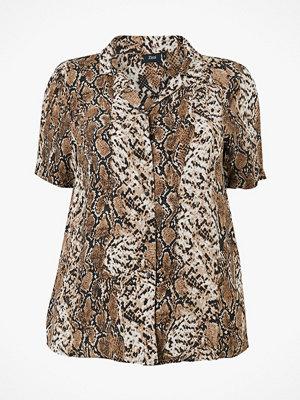 Zizzi Blus xSnake S/S Shirt