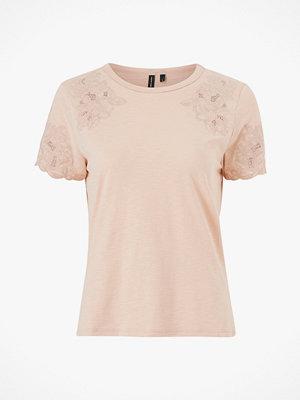 Vero Moda Topp vmAmabel S/S Lace Top