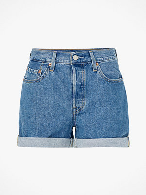 Shorts & kortbyxor - Levi's Jeansshorts 501 Short Long Montgomery Stonewash
