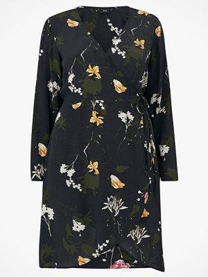 Zizzi Klänning eRose L/S Wrap Dress