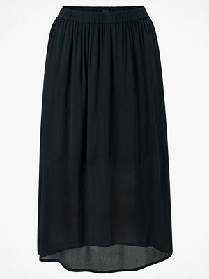 Zizzi Kjol xDasy Long Plain Skirt