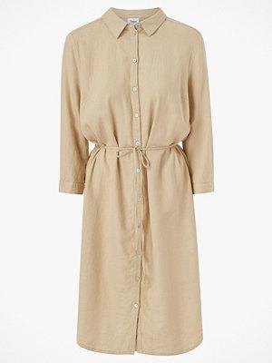 Saint Tropez Skjortklänning i linnemix
