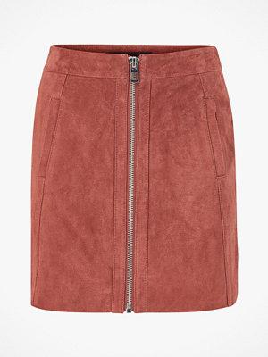 Vero Moda Mockakjol vmSana Zip Suede Short Skirt
