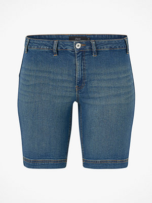 Zizzi Jeansshorts Regular Fit Straight Leg