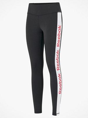 Sportkläder - Reebok Performance Träningstights Essentials Linear Logo Tights
