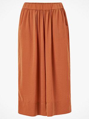 Second Female Culottebyxor Minga Cropped Trousers röda