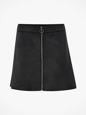 Only Kjol onlLea Faux Suede Bonded Skirt