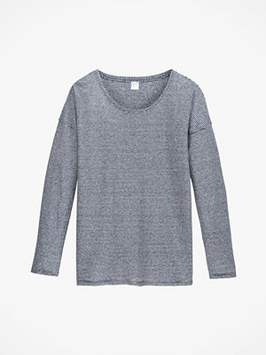 La Redoute Tröja i linne med rund halsringning och lång ärm