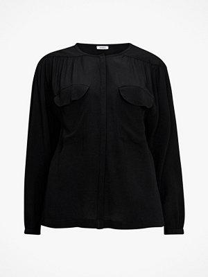 La Redoute Skjorta med rund halsringning och lång ärm