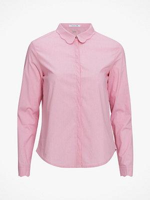 La Redoute Skjorta i bomull med dekorkrage