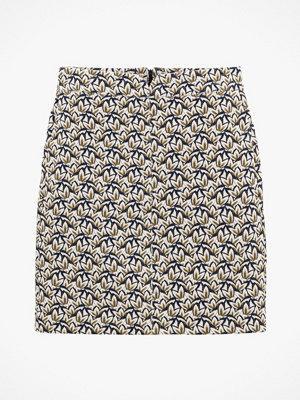 La Redoute Kort, rak kjol med jacquardmönster