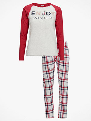 Pyjamas & myskläder - La Redoute Pyjamas med textmotiv