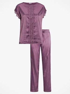 Pyjamas & myskläder - La Redoute Pyjamas med spetsdetaljer