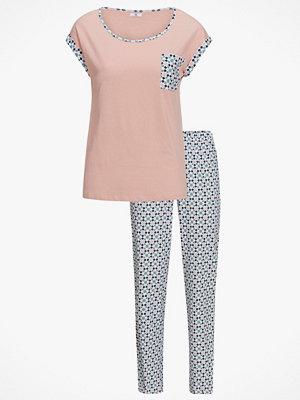 Pyjamas & myskläder - La Redoute Mönstrad pyjamas med tröja med kort ärm