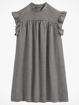 La Redoute Smårutig, utställd klänning med kort ärm