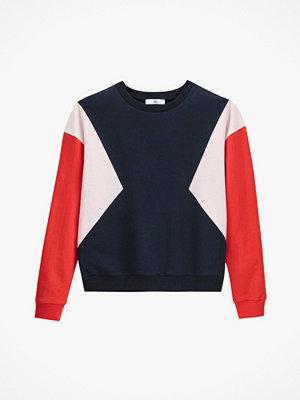 La Redoute Sweatshirt med colorblock-effekt