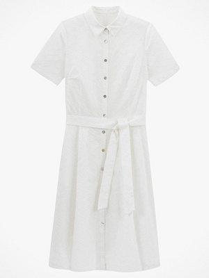 La Redoute Skjortklänning med engelsk brodyr och kort ärm