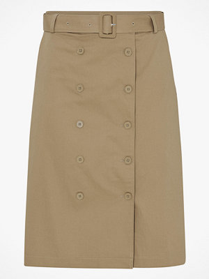 La Redoute Lång kjol med dubbel knäppning