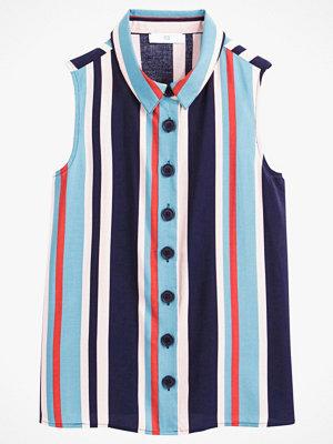 La Redoute Randig, ärmlös skjorta