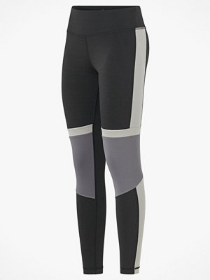 Reebok Performance Träningstights Wor Myt Paneled PolyTight
