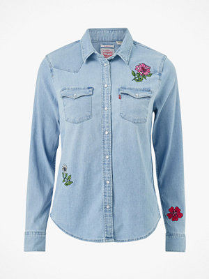 Levi's Jeansskjorta Ultimate Western Hazy Blues