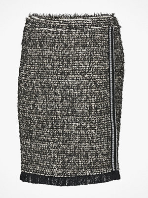 Cream Kjol Nandy Tweed Skirt