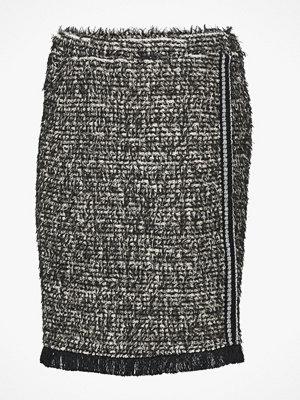 Cream Kjol Nandy Tweed Skirt