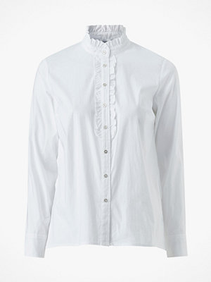 co'couture Skjorta Frill Poplin Shirt