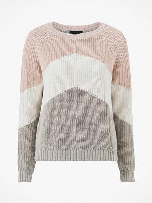 Tröjor - Object Tröja objGraph L/S Knit Pullover I.Rep