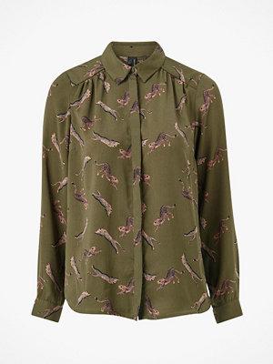 Vero Moda Blus vmLizzy Animal L/S Shirt