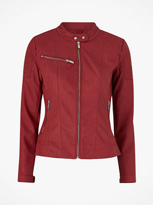 Only Bikerjacka onlMegan Faux Leather Jacket