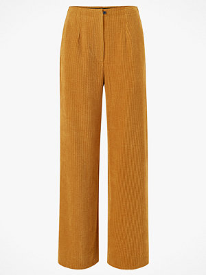 Second Female Manchesterbyxor Boyas MW Trousers omönstrade