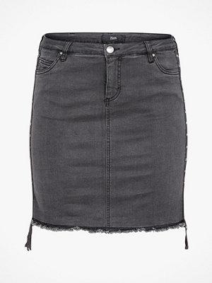 Kjolar - Zizzi Jeanskjol MBobby Skirt
