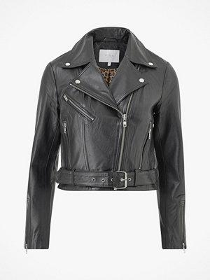Vila Skinnjacka viWillas Short Leather Jacket