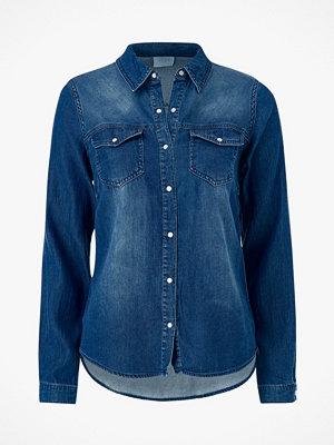 Skjortor - Vila Jeansskjorta viBista Denim Shirt