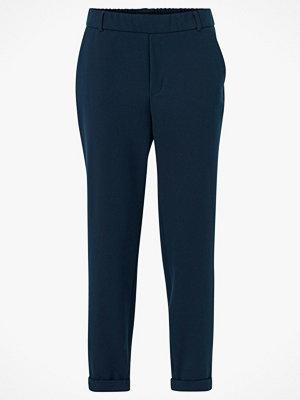 Vero Moda Byxor vmMaya MR Loose Solid Pant marinblå