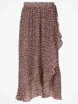 Second Female Omlottkjol Anita Wrap Maxi Skirt