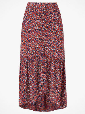 Pieces Volangkjol pcHellia Midi Skirt