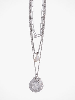 Pieces smycke Halsband pcGanika Combi Necklace
