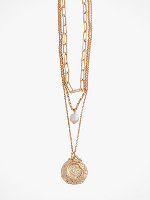 Pieces smycke Halsband pcGanika Combi Necklace
