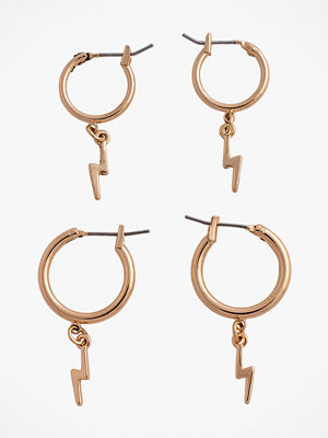 Pieces smycke Örhängen pcGaby Hoop Earrings, 2-pack